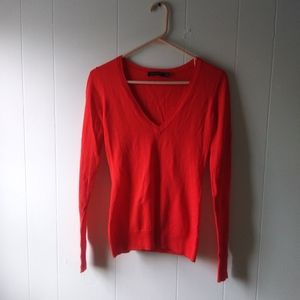 The limited red sweater size xs